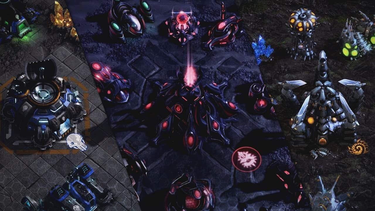 starcraft bilim kurgu oyunları