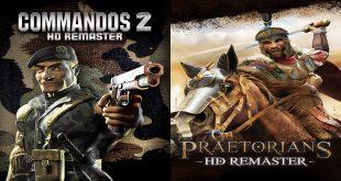 Commandos 2 ve Praetorians