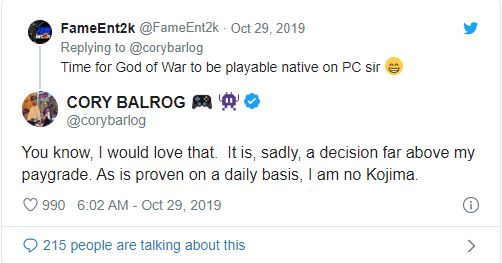 Cory Barlog