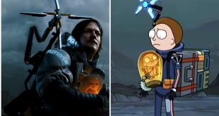 Death Strandign Rick & Morty