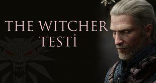 The Witcher Testi Kapak Görseli