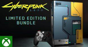 cyberpunk 2077 temalı xbox one x