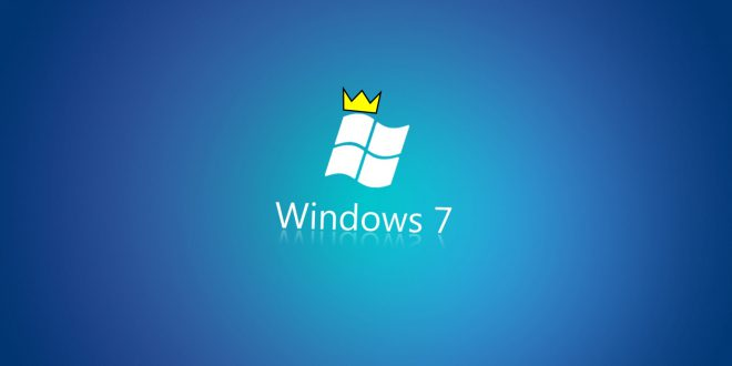 Windows 7 pazar payı