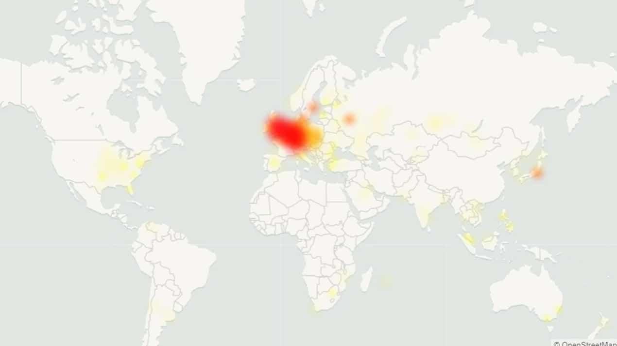 Steam dünya genelinde çöktü
