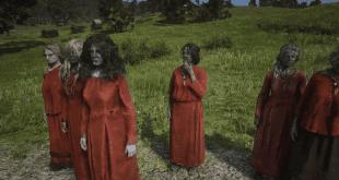 Red Dead Online zombi