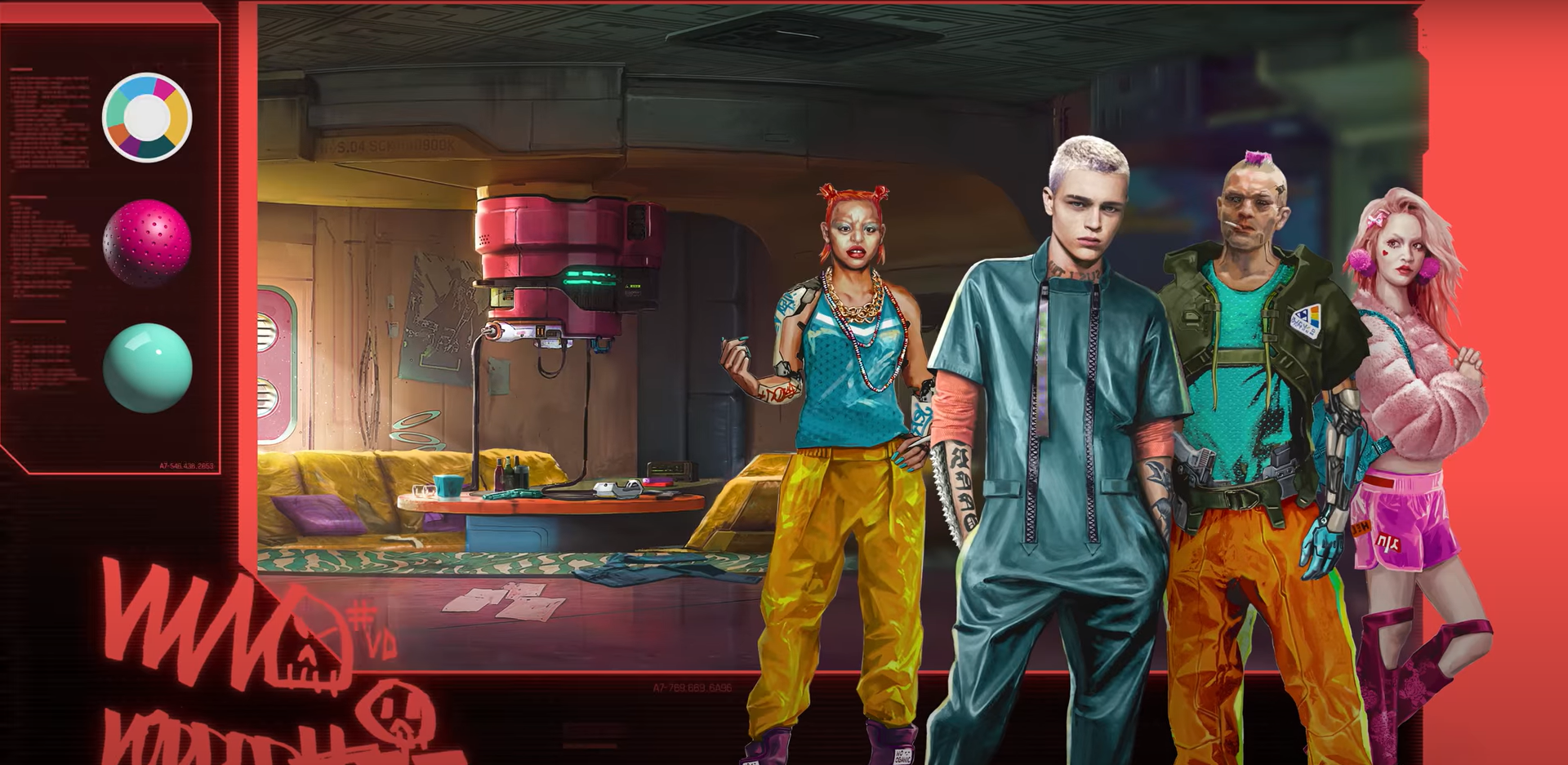 Cyberpunk 2077 kıyafet