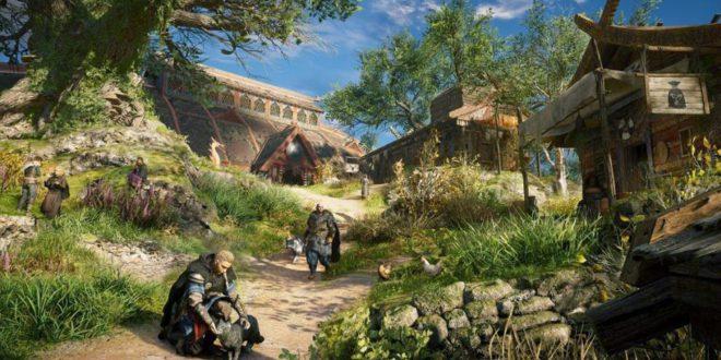 Assassin's Creed Valhalla bölgeleri