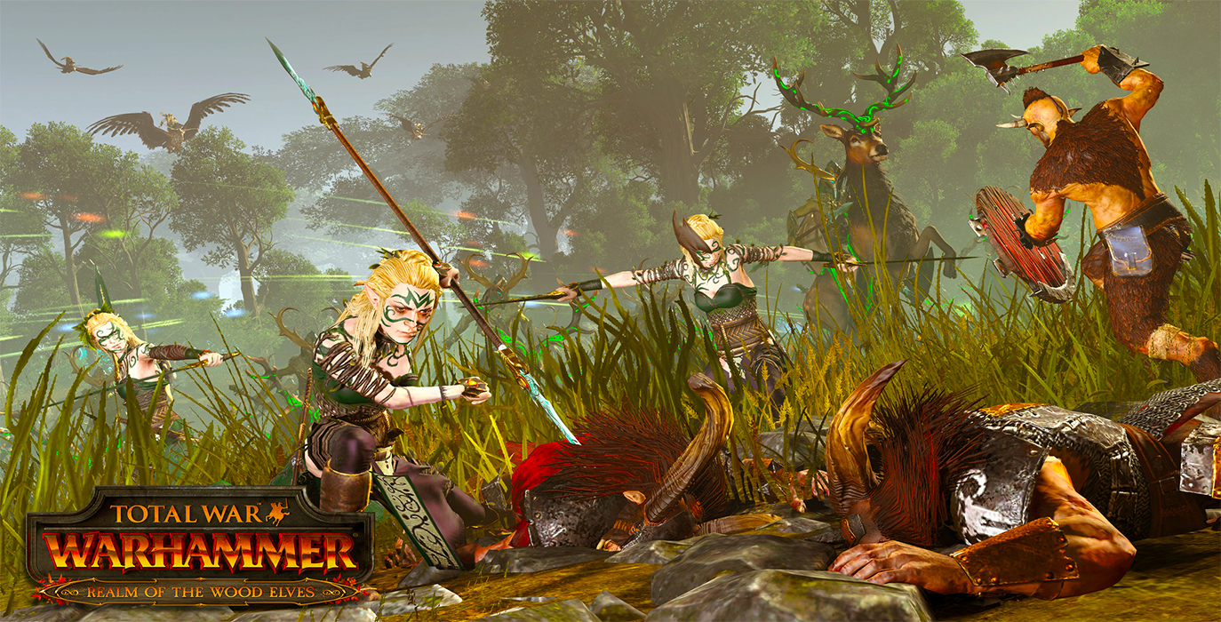 Total War: Warhammer 2 Wood Elves DLC