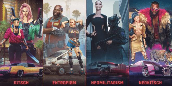 Cyberpunk 2077 kıyafet stilleri