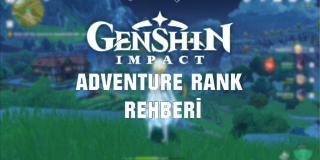 Genshin Impact adventure rank