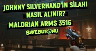 johnny silverhand'in silahı