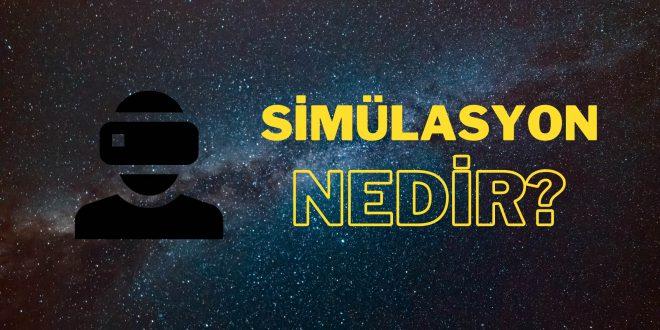 simülasyon ne demek