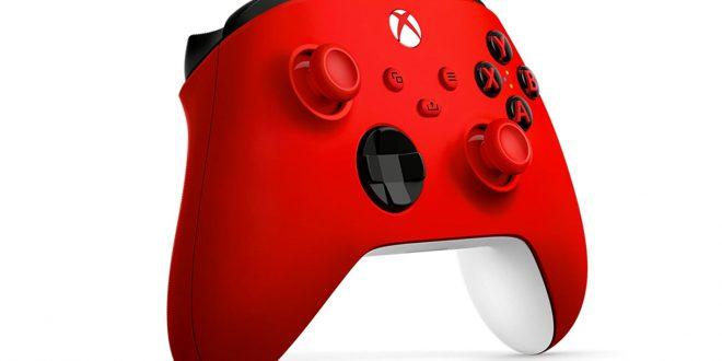 kırmızı Xbox Series
