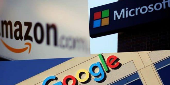 Microsoft Amazon Google oyun