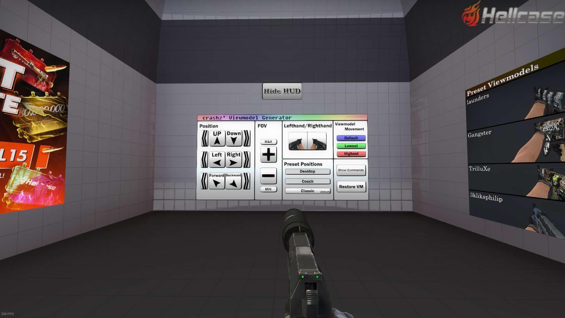 crashz viewmodel generator