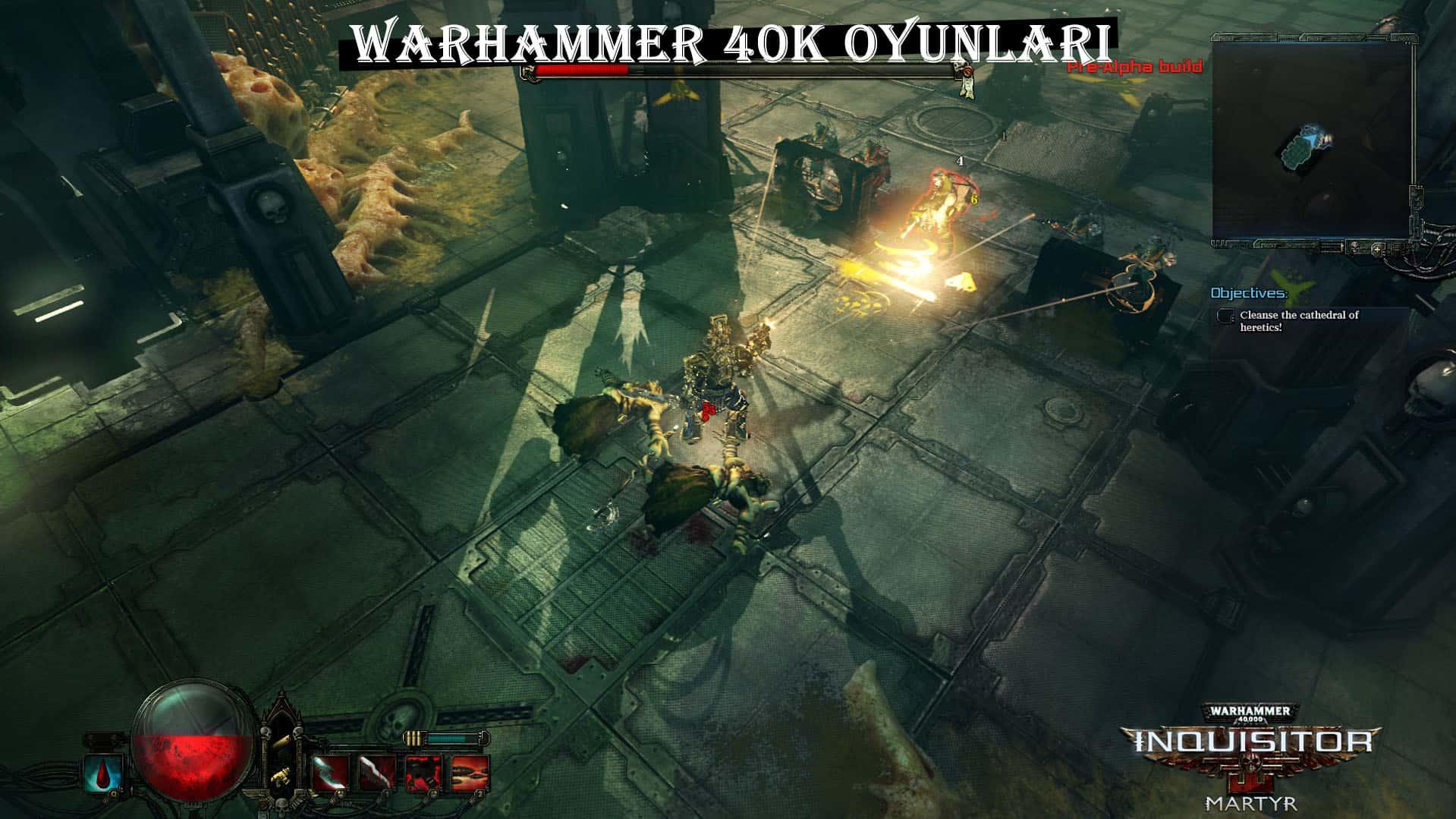 warhammer 40,000 oyunları
