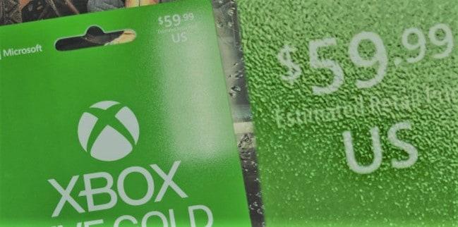 xbox live gold serisi