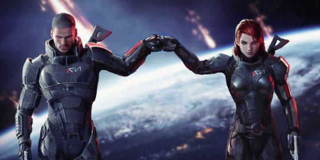 Henry Cavill Mass Effect