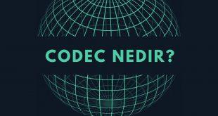 codec nedir