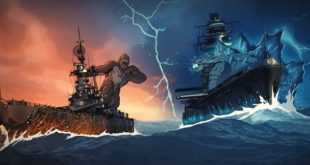 godzilla vs kong world of warships