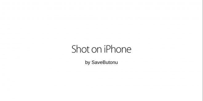 shot on iphone ne demek