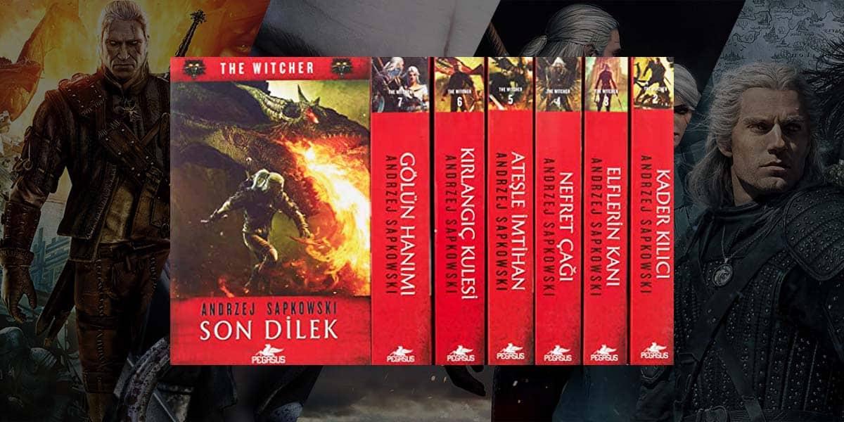 the witcher kitapları