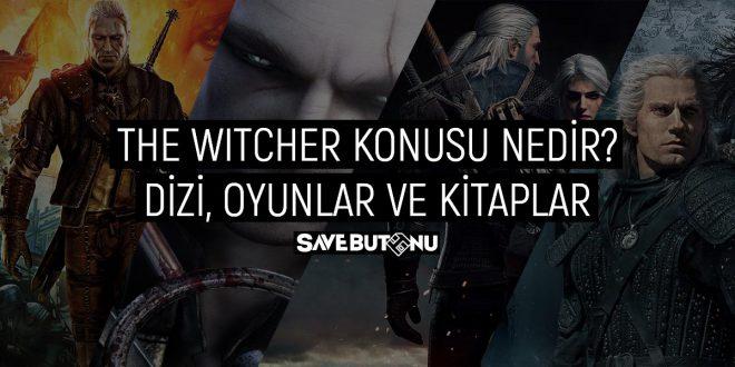 the witcher konusu nedir