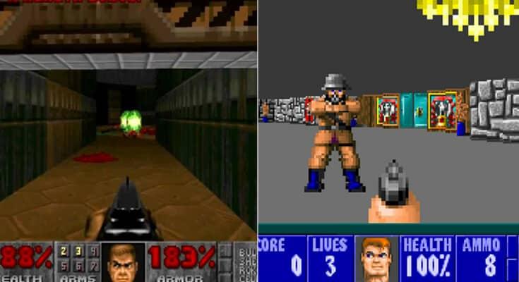 ücretsiz oyun Doom ve Wolfenstein 3D